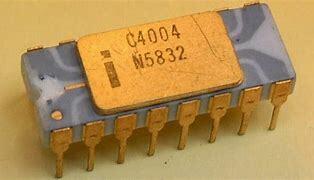 Criação do primeiro chip