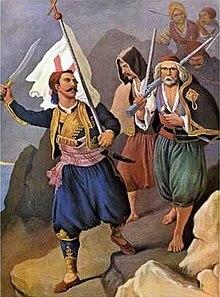 Κήρυξη της επανάστασης στη Μάνη από τον Πετρόμπεη Μαυρομιχάλη.