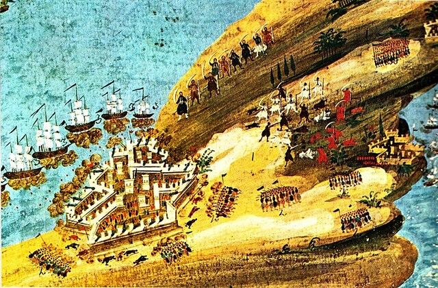 Οι Τούρκοι εκτελούν στο Μεγάλο Κάστρο (Ηράκλειο) τον Αρχιεπίσκοπο Κρήτης Γεράσιμο, πέντε αρχιερείς και πολλούς προκρίτους της μεγαλονήσου.