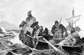 Vikings Attack Linidisfarne