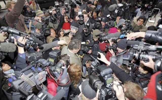 Fim do casamento e perseguição da mídia