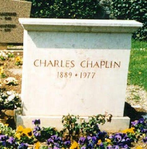 Charles Chaplin death