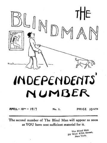 The Blind Man.