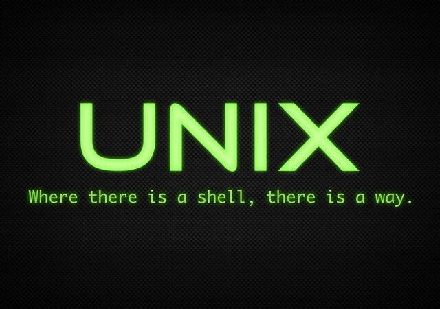 Lenguaje de programación para Unix