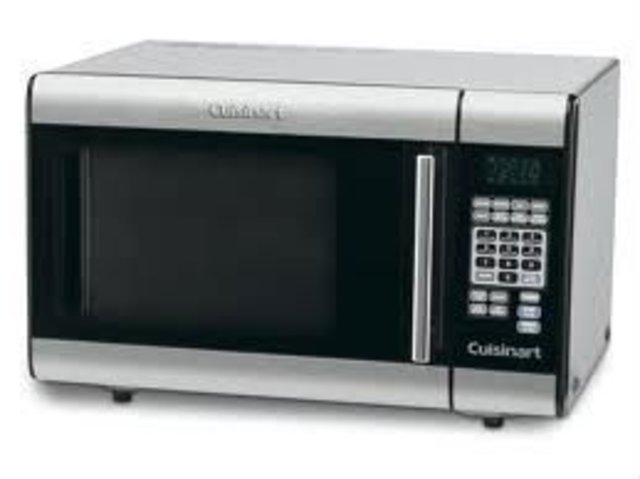 Microwave ovens were invented
