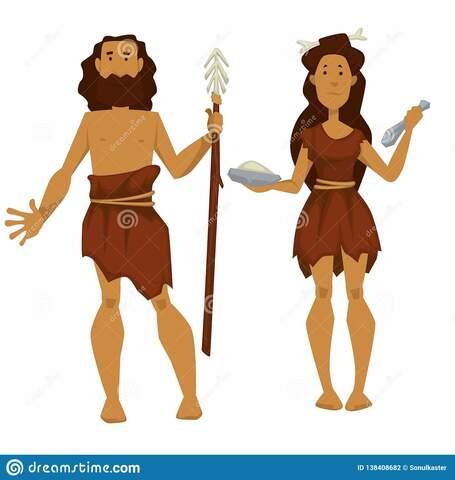 vestuario primitivo