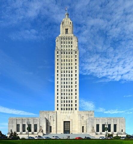 Louisiana State Capitol.