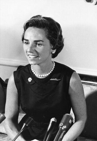 Ethel Kennedy.(1928-Actualidad). - Su marido fue Robert F. Kennedy.