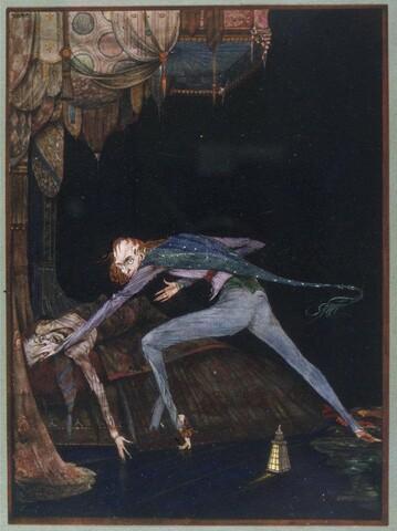 """""""El corazón delator"""" de E. Allan Poe."""