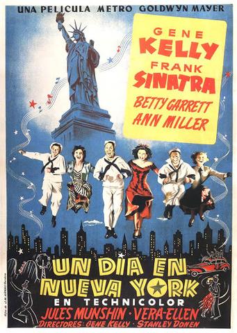 """On the Town"" Dirigida por Stanley Donen."