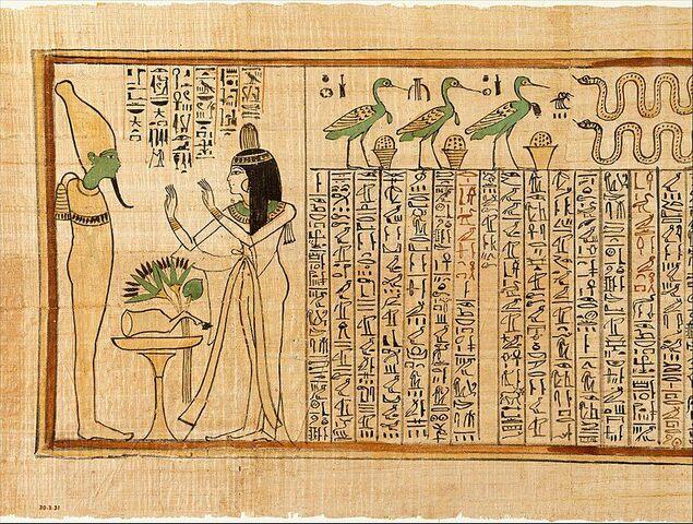 Papiros Egipcios.