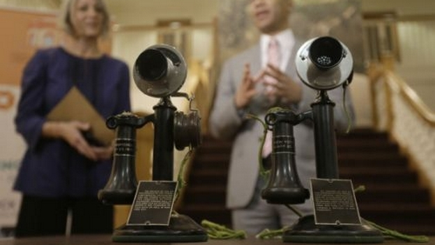 Primera llamada de teléfono transcontinental