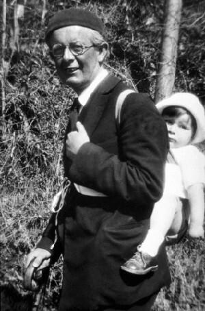 Nascimento do seu filho Laurent Piaget