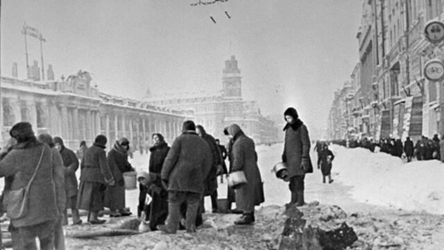 German trooops besiege Leningrad