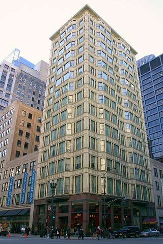 Reliance Building (Chicago) por Burnham and Root. y por Charles B. Atwood.