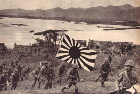 Japan invades Singapore