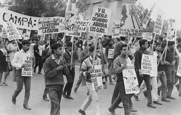 Antecedentes del movimiento estudiantil.
