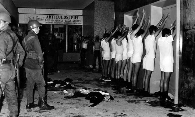 Masacre de Tlatelolco.