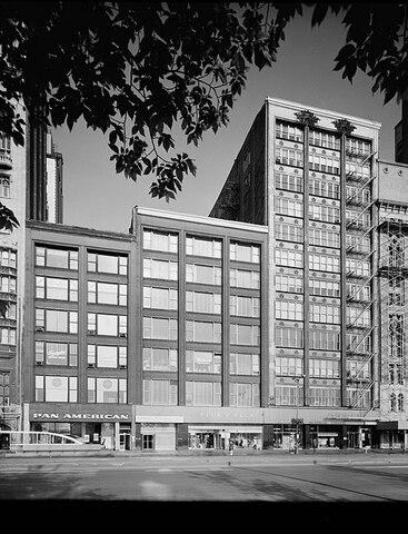 Gage Group Buildings (Chicago) por Holabird & Roche.