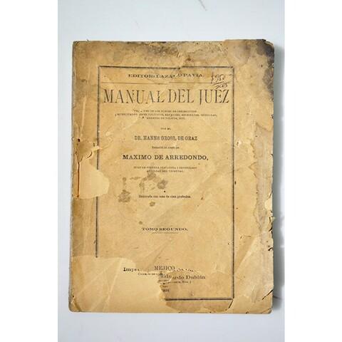 Manual del Juez llega a México