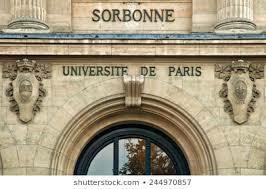 Estudios en la Universidad La Sorbona de París