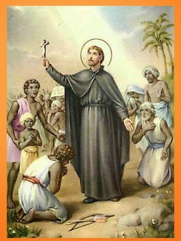 Empieza a predicar el Catolicismo
