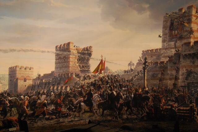 La conquesta de Constantinbole