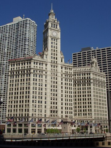 Wrigley Building. (Chicago). por Graham, Anderson, Probst & White.