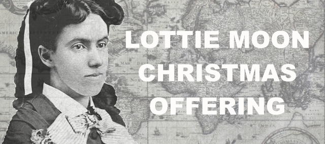 First Lottie Moon Christmas Offering