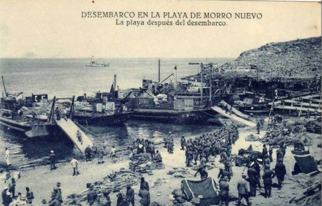 Desembarco de Alhumecas(Marruecos)
