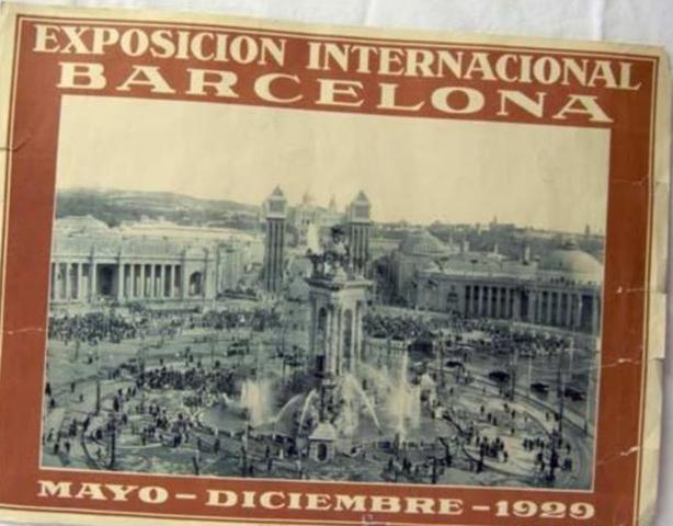 Exposición internacional de Barcelona