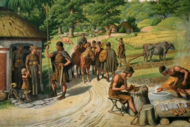 Divisió Social en l'edat del bronze