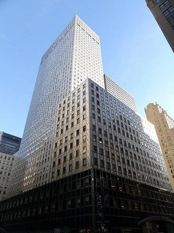 Socony-Mobil Building (New York) por Harrison & Abramowitz.