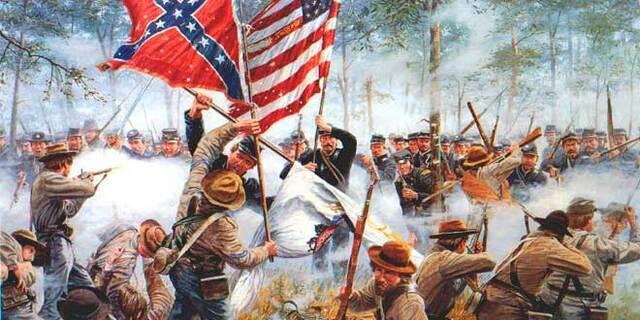 Batalla de Gettysburg.
