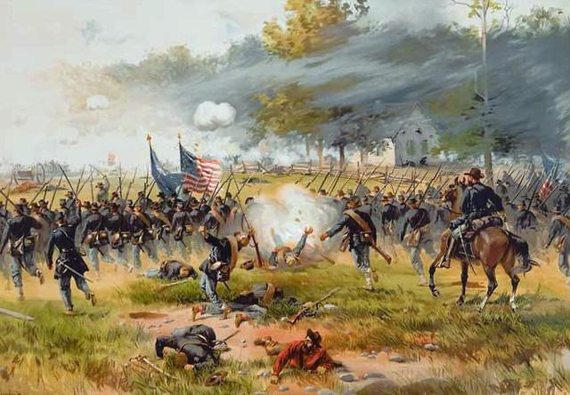 Batalla de Antietam. (Condado de Washington, Maryland).