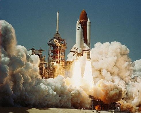 Transbordador espacial Challenger.