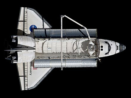 Transbordador espacial Discovery.