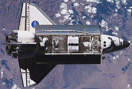 Transbordador espacial Endeavour.