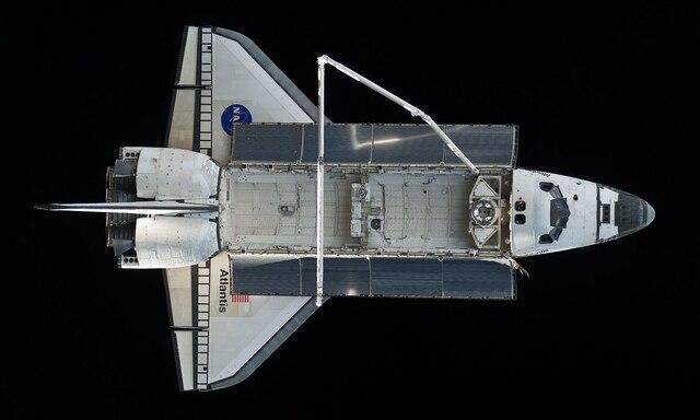Transbordador espacial Atlantis.