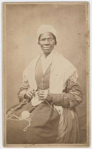 Sojourner Truth visits Millerite camp meetings