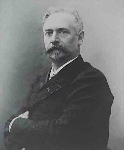 Richard Morris Hunt. (1827-1895).