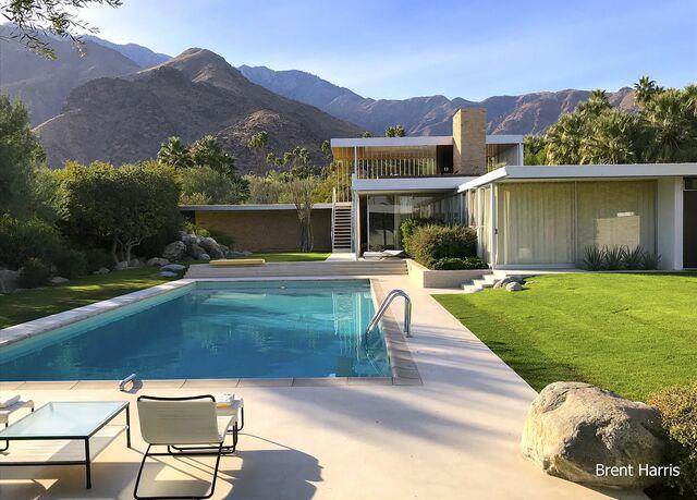 Kaufmann Desert House por Richard Neutra.(Residencia de Vacaciones).