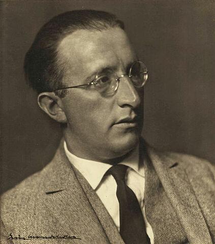 Erich Mendelsohn. (1887-1953).