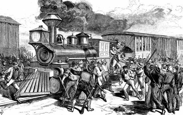 Great Railroad Strike.