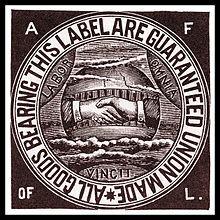 American Federation of Labor is organized.