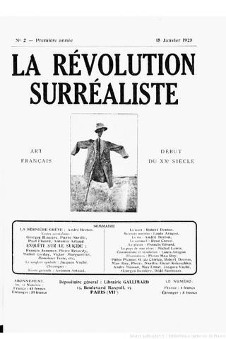 La Revolución Surrealista.