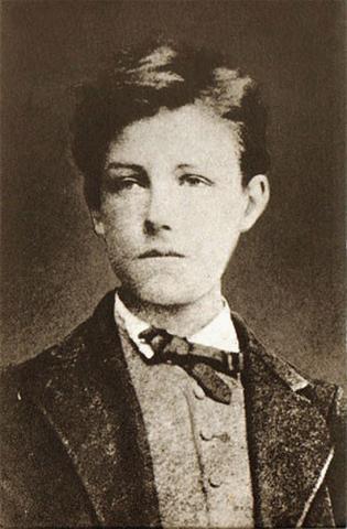 Arthur Rimbaud. (1854-1891).
