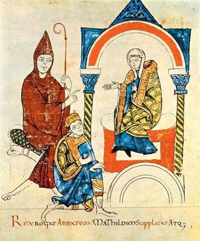 Hugo de Cluny (1024- 1109). - 6º Abad de Cluny.