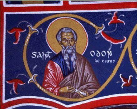 Odón de Cluny. (878-942) - 2º Abad de Cluny.