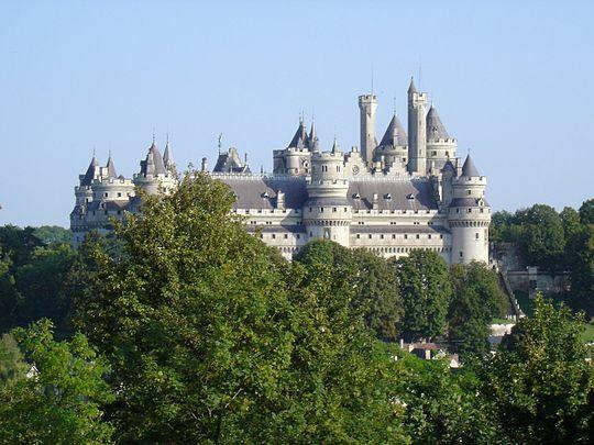 Castillo de Pierrefonds.